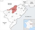 Locator map of Kanton Baume-les-Dames 2019.png