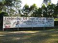 Logan Village, Queensland, Settlers Day 2013 Street Banner.JPG