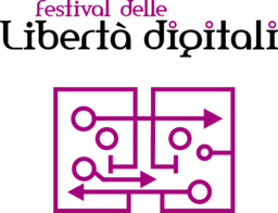 Logo Festival libertà digitali Wikimedia Italia