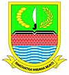Official seal of Bekasi Regency