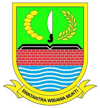 Bekasi Regency - Image: Logo Kabupaten Bekasi
