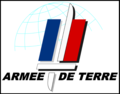 Logo of the French Army (Armee de Terre) with border.png