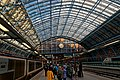 London - St Pancras International Rail - Single Roof Span 1868 by William Henry Barlow & Rowland Mason Ordish - View SSE II.jpg