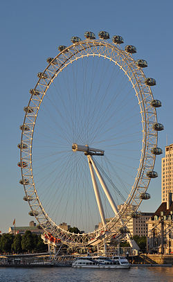 London Eye at sunset 2013-07-19.jpg