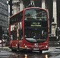 London General bus WVL110 (LX03 EDU) 2003 Volvo B7TL Wrightbus Eclipse Gemini, Bank, route 11, 22 June 2011.jpg