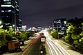 Long exposure shot on Inorbit Mall Road, Hyderabad.jpg
