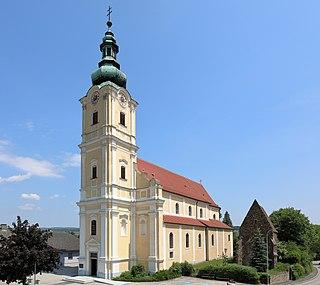Loosdorf Place in Lower Austria, Austria