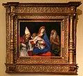 Lorenzo lotto, madonna col bambino tra i ss. ignazio di antiochia e onofrio, 1508, 01.jpg