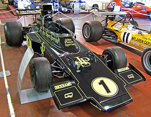 1973 Formula One season - John Player Team Lotus won their second consecutive Manufacturers' Cup with the Lotus 72.