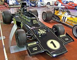 Lotus 72 - An ex-Ronnie Peterson Lotus 72E