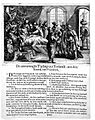 Louis XIV in bed surrounded by physicians (politicians) of a Wellcome L0019532.jpg