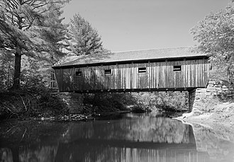 Andover, Maine - Lovejoy Covered Bridge