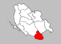 Lovinac municipality map.PNG