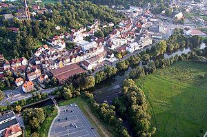 Frankenberg, Hesse - Aerial view