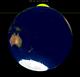 Lunar eclipse from moon-1999Jul28