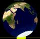 Maansverduistering van maan-2013Apr25.png