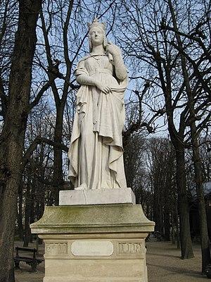 Reines de France et Femmes illustres - Image: Luxembourg Sainte Bathilde