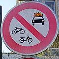 Luxembourg road sign C,4b Kirchberg.jpg