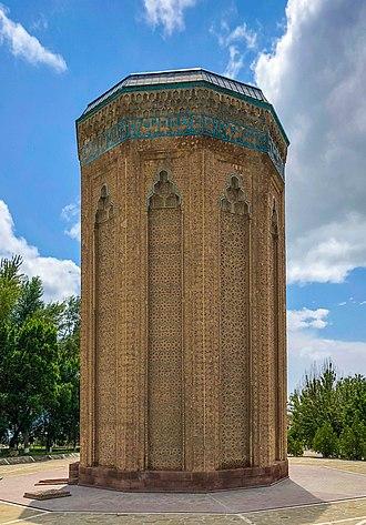 Türbe - Momine Khatun Mausoleum in Nakhchivan (1186-1187)