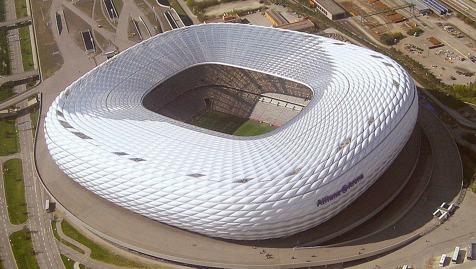 München - Allianz-Arena (Luftbild)