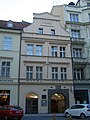 Měšťanský dům U Medvídků (Staré Město), Praha 1, Na Perštýně 7, Staré Město.JPG