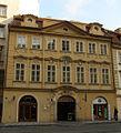 Měšťanský dům U zlatého sloupu (Nové Město), Praha 1, Vodičkova 16, Nové Město.JPG