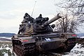 M60A3 of 4-69 Armor with commander using binoculars during REFORGER '85 DF-ST-85-13241.jpg