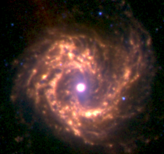 Messier 61 - Image: M61 3.6 5.8 8.0 microns spitzer