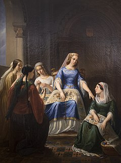 Matilda of Flanders 11th-century Flemish noblewoman and Queen of England