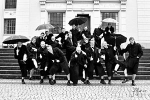 The Male Choir of University of Bergen (Norway)