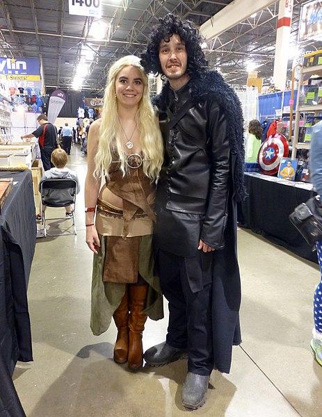 File:MCCC 15 - Daenerys Targaryen & Jon Snow (17474013223).jpg