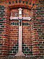 MOs810 WG 55 2016 Pyzdry Forest III (Old church in Zbiersk) (cross 1879).jpg