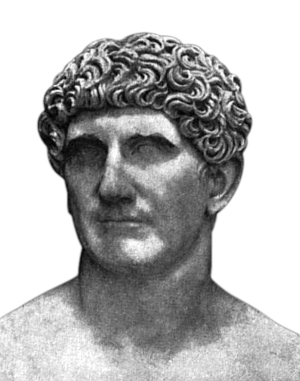 Mark Antony - Bust of Mark Antony in Vatican City