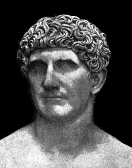 a biography of mark anthony a roman statesman