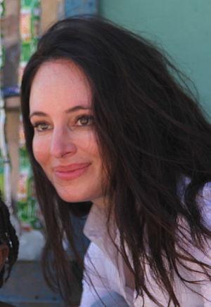 Madeleine Stowe - Stowe in Haiti in 2011