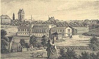 Maglekilde - Maglekilde Spa in 1847