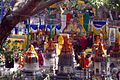 Mahabodhi Monlam decorations.jpg