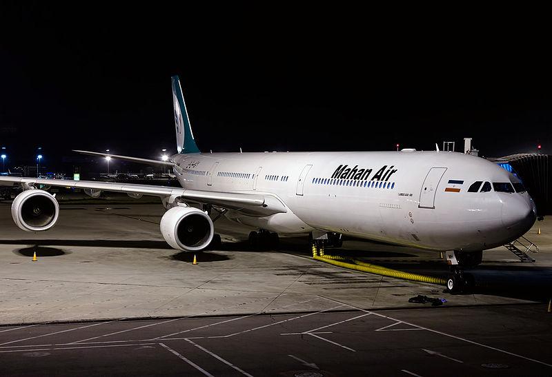 File:Mahan Air Airbus A340-642 at Beijing Capital.jpg