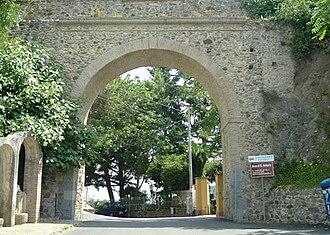 Maida, Calabria - Arco di San Antonio, leading into the town of Maida.