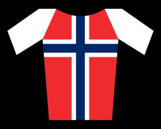Thor Hushovd - Image: Maillot Noruega