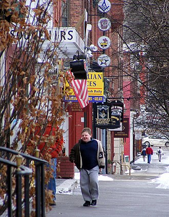 Cooperstown, New York - Main Street