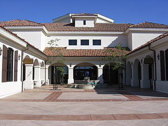 City of Camarillo Public Library - Main entrance, The City of Camarillo Public Library