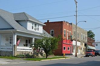 Mount Blanchard, Ohio - Main Street