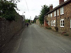 Main street through Wistanstow village - geograph.org.uk - 270545.jpg
