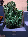 Malachite (with Azurite) - National Museum of Natural History - Washington, D.C..jpg
