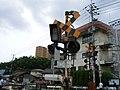 Malfunctioning Level Crossing in Hiroshima.JPG