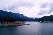 Manasbal Lake in Kashmir.
