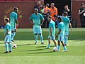 Manchester United Legends v Barcelona Legends, 2 September 2017 (03).jpg