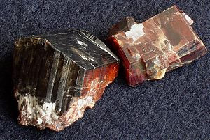 Tantalite - Manganotantalite from Alto do Giz, RN, Brazil