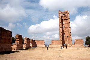 Marinid dynasty - Remnants of the city of al-Mansoura constructed by the Marinids during their siege of Tlemcen.